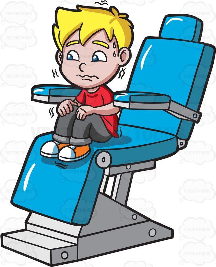 A terrified kid at the dentist #cartoon #clipart #vector # ...