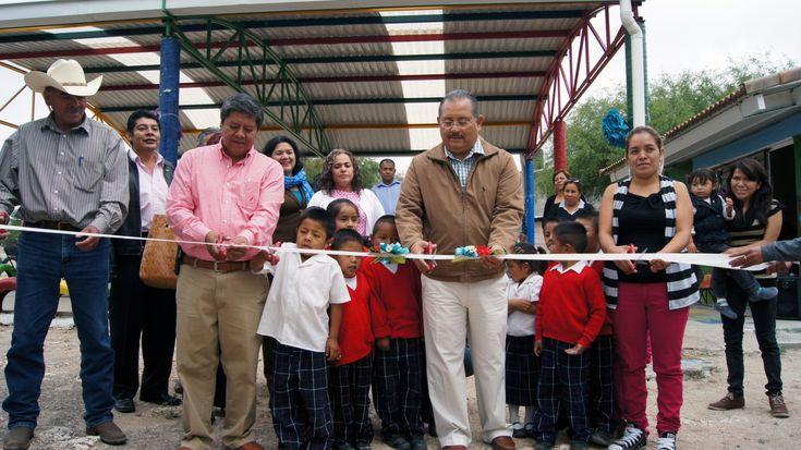 Inauguran obra en Jardín de Niños ''Guadalupe Victoria'' en la comunidad El Venadito, Mexquitic de Carmona, S.L.P.