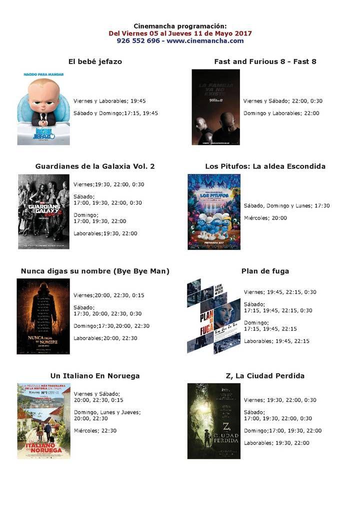 Cartelera Cinemancha del viernes 5 al jueves 11 de mayo - https://herencia.net/2017-05-05-cartelera-cinemancha-del-viernes-5-al-jueves-11-mayo/?utm_source=PN&utm_medium=herencianet+pinterest&utm_campaign=SNAP%2BCartelera+Cinemancha+del+viernes+5+al+jueves+11+de+mayo
