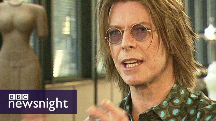David Bowie speaks to Jeremy Paxman on BBC Newsnight (1999)