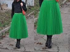Зеленая салатовая сиреневая белая юбка пачка_юбка для нее_юбка из тюли_шифоновая юбка_принцесса_женская одежда by MyStylishFantasy on Etsy