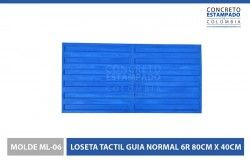 MOLDE-ML-06-LOSETA-TACTIL-GUIA-NORMAL-6R-80CM-X-40CM-web