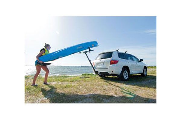 Rhino Rack T-Loader Kayak & Canoe Hitch Rack - Free Shipping on Rhino Roof Rack Loader for Kayaks & Canoes