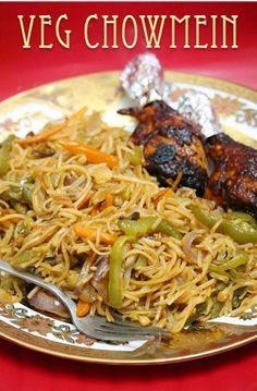 YUMMY TUMMY: Veg Chow Mein Recipe / Vegetable Stir Fry Noodles Recipe