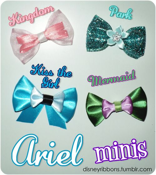 little mermaid bows ideas