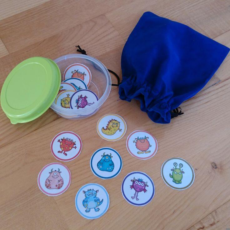 Chips für die Gruppenbildung Für die Einteilung von Kindern für die Partnerarbeit nutze ich die tollen Kärtchen von Kerstin . Da das Syst...