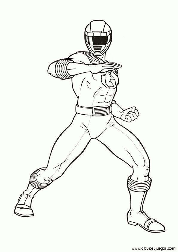 Dibujos de los Powers Rangers para colorear Yahoo Search