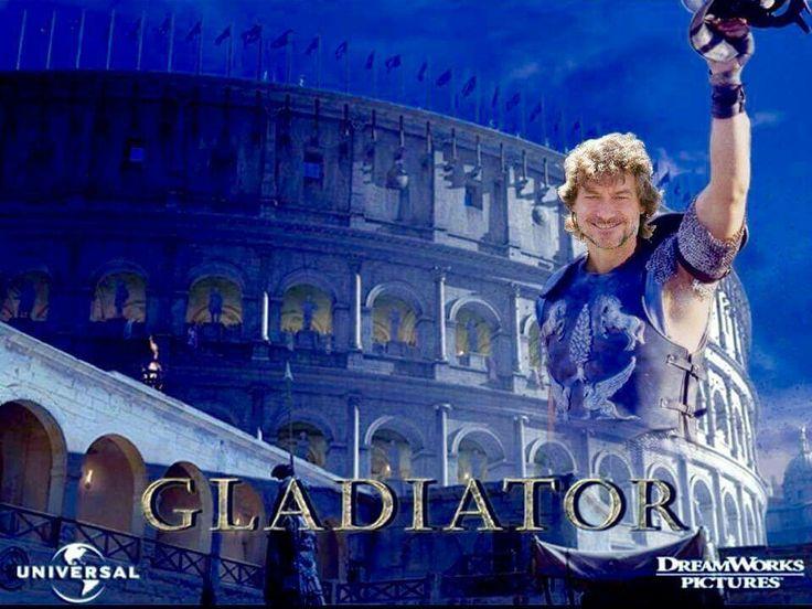 Alberto Angela Gladiator (Ph. Credit: Francesca Bonanni)
