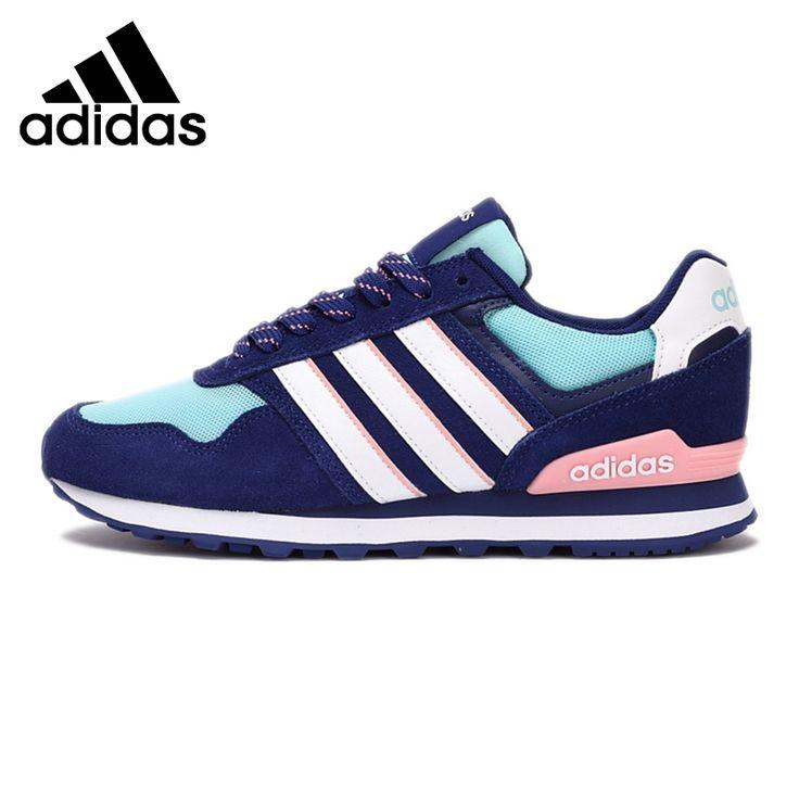 Original de la nueva llegada 2017 adidas neo etiqueta 10 k w skate zapatos zapatillas de deporte de las mujeres