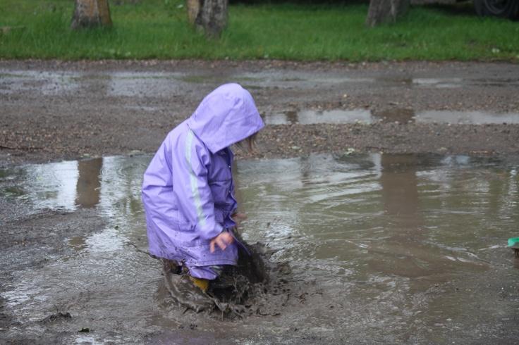 Mud splash!