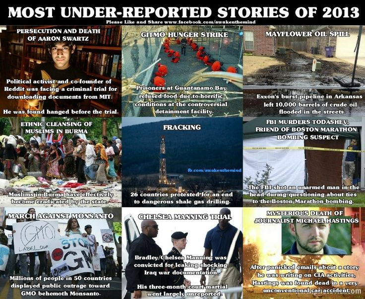 Most under reported news stories of 2013 - Happy News Year - Imgur