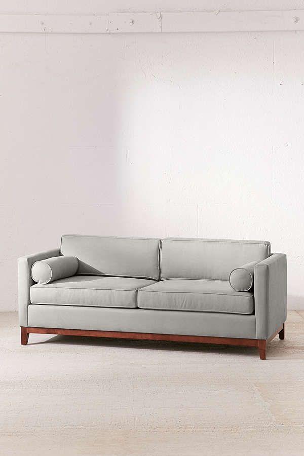 Slide View: 2: Piper Petite Microfiber Sofa