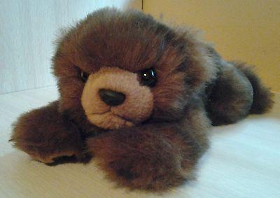 Vintage Rare Retired 1996 TY Beanie Buddies Brown Bear Baby Paws