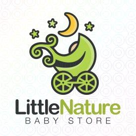Exclusive Customizable Logo For Sale: Little Nature Baby Store   StockLogos.com https://stocklogos.com/logo/little-nature-baby-store