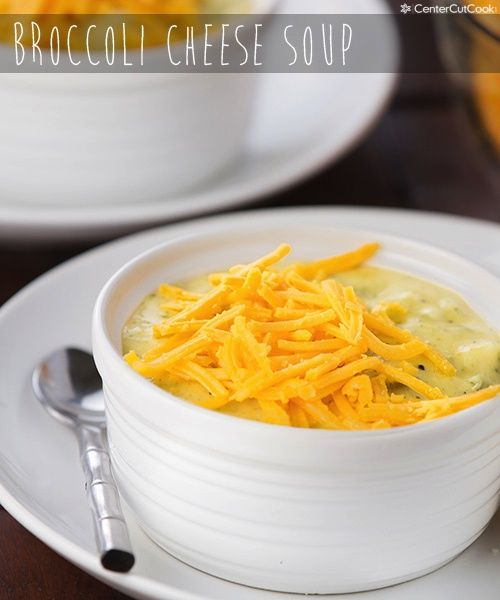 Creamy, cheesy Broccoli Cheese Soup! An easy recipe everyone always loves!