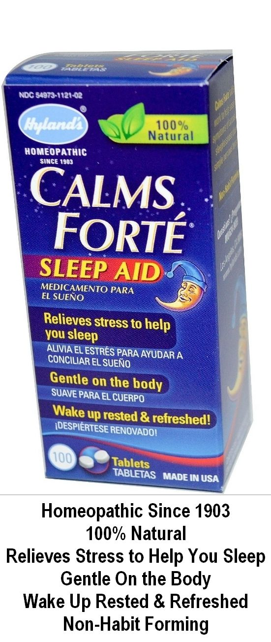 Calms Forte.      Homeopathic Since 1903     100% Natural     Relieves Stress to Help You Sleep     Gentle On the Body     Wake Up Rested & Refreshed     Non-Habit Forming ... http://supergrannysays.com/