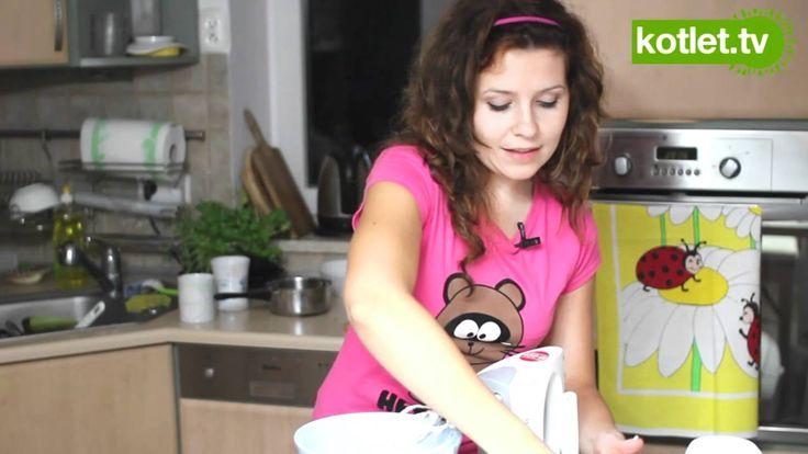 Jak zrobić krem z bitą śmietaną do tortu - KOTLET.TV