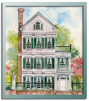 Authentic Historical Designs Llc House Plan Church Street Charleston Collection