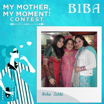 Neha Sethi #MyMotherMyMoment #Contest
