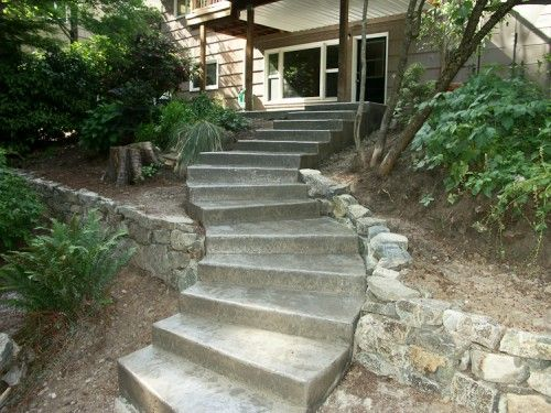 Best 95 Best Images About Outdoor Steps Concrete On Pinterest 400 x 300