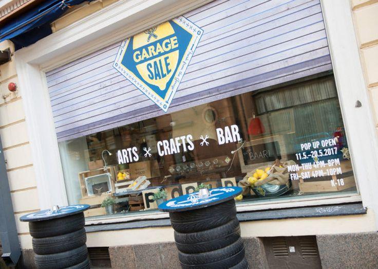 Helsingissä osoitteessa Unioninkatu 25 voi aistia aitoa autotallifiilistä, kun Garage Sale –afterwork-baari avautuu Basson Pop-upin tiloihin. Katutaide ja käsityöläisyys kulkevat käsi kädessä, kun Stadin kiinnostavimmat tekijät kokoontuvat saman katon alle.