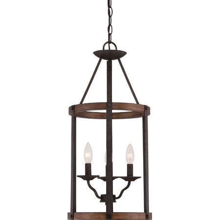 34 best lantern pendant lighting images on pinterest chandeliers illuminate your foyer in regal style with this wood and metal pendant featuring a simple lantern pendantpendant lightsfoyer lightingisland mozeypictures Choice Image