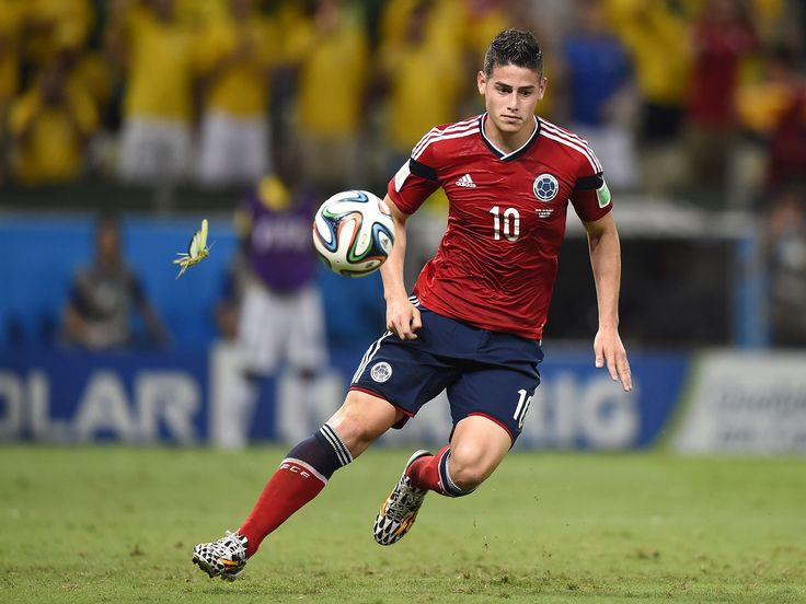 Titan Del Juego Monaco Fc And Colombia Player James Rodriguez Hd