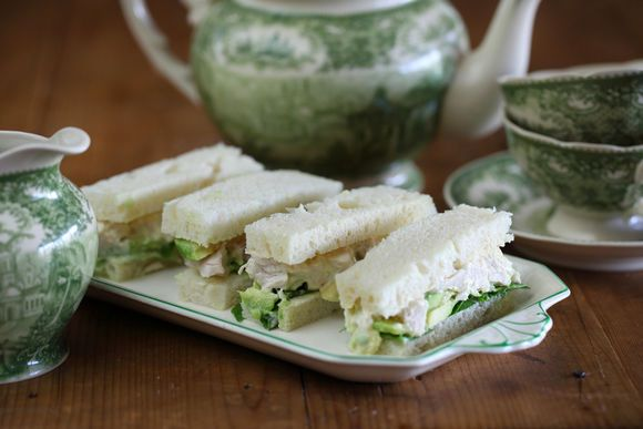 Chicken and Avocado Sandwich with Verjuice Mayonnaise - Maggie Beer