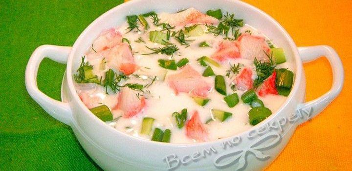 Суп кефир огурцы похудение