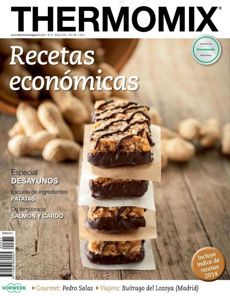 ISSUU - Thermomix magazine nº 75 enero 2015 de Revistas - Libros - Cómics