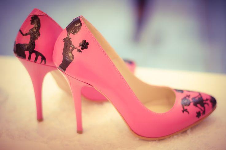 Valentine's day special edition pink stiletto