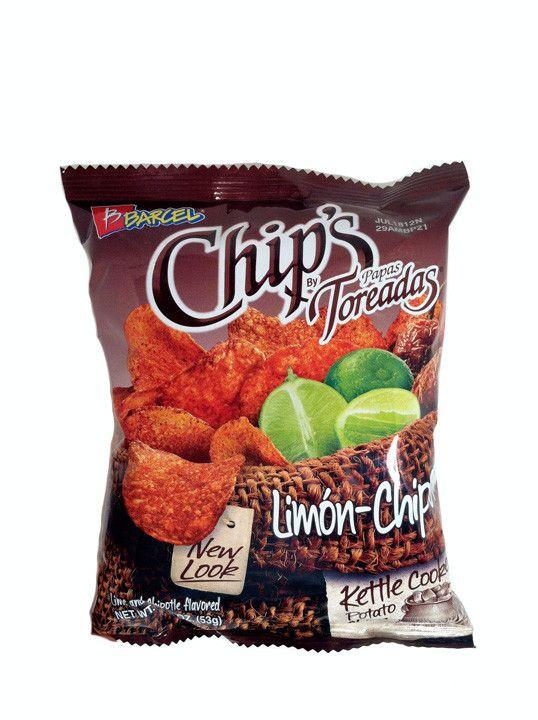 Barcel Chips Papas Toreadas Limon-Chipotle 1.86 oz