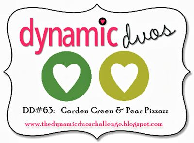 Dynamic Duos: Dynamic Duos #63 - Garden Green and Pear Pizzazz