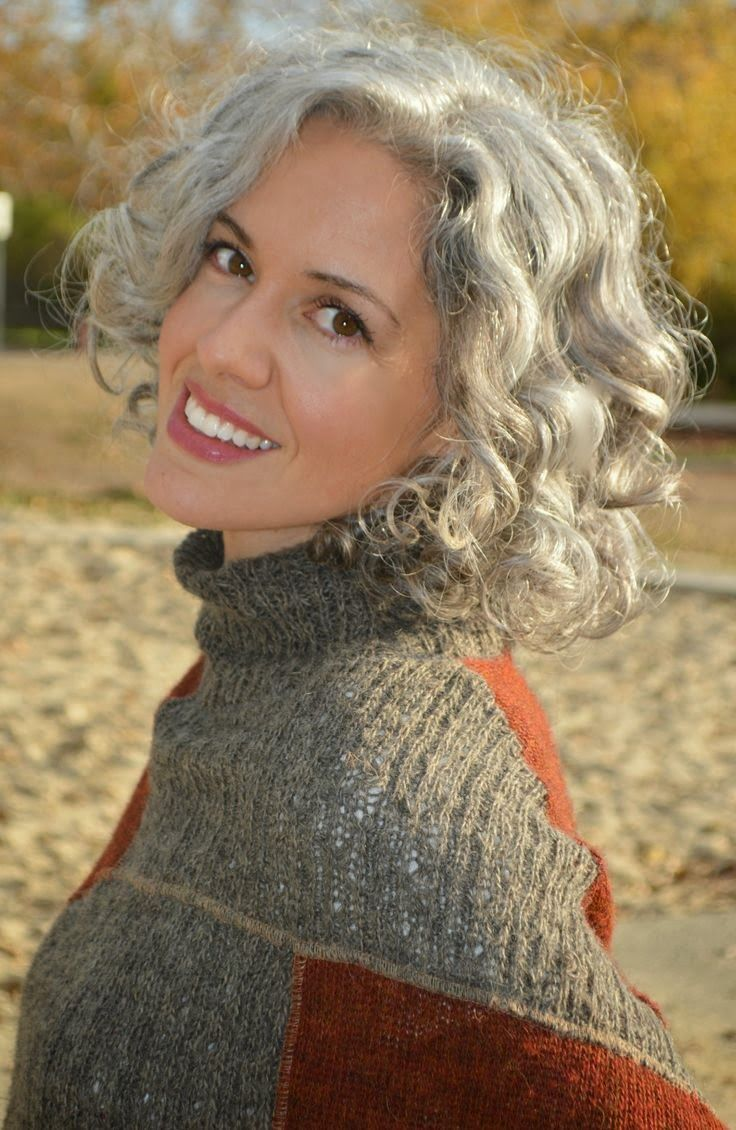 426 best Hairstyles for Grey Hair images on Pinterest ...