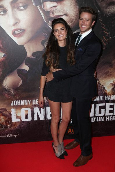 Armie Hammer and Elizabeth Chambers - 'The Lone Ranger' Premieres in Paris