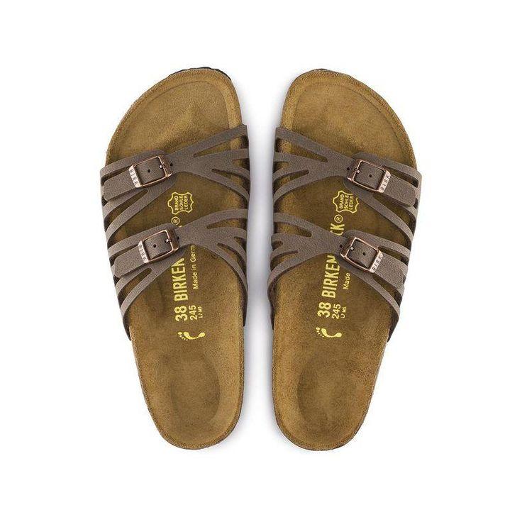 Sandales plates double boucles en daimBirkenstock ybhvdO2aXN