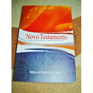 Portugese New Testament / Portuguese Language NT with Maps and Dictionary / Novo Testamento Nova traducao na Linguagem de Hoje / Biblia A Prova D' Gua  $49.99