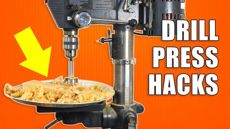 5 Quick Drill Press Hacks! #woodworking