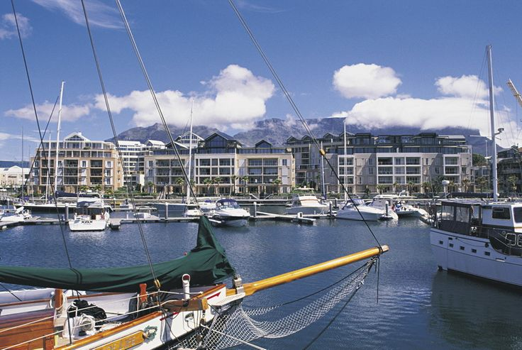 V&A Waterfront Marina, Cape Town, South Africa