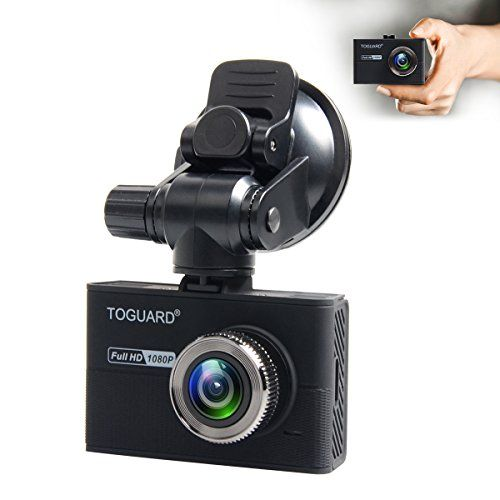 TOGUARD Dash Camera for Cars With Capacitor,Dash Cam Recorder Full HD 1080P,170 Degree Wide Angle Cameras, 1.5″ LCD Display, WDR, Loop Recording,G-Sensor
