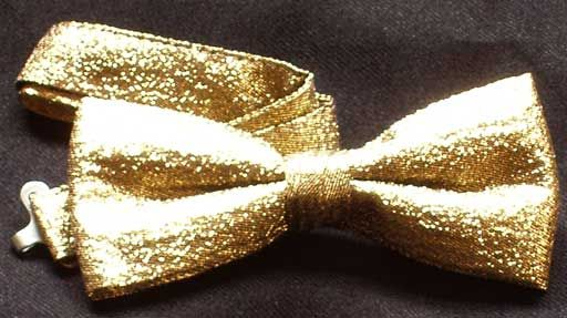 freaking awesome gold bowtie - $6.25
