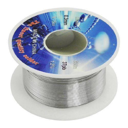 SODIAL(R) Enrouleur/bobine pour fil de soudure Dia.0.3mm 63% etain 37% plomb: Price:1.87 * SODIAL est une marque dšŠposšŠe. SEULEMENT le…
