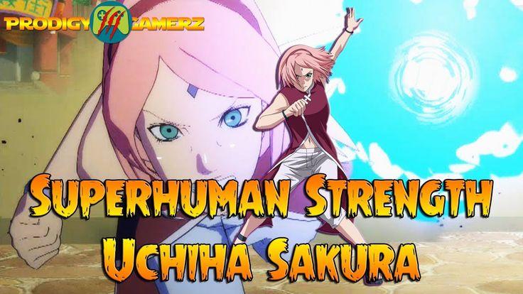 Anime Ninja - Superhuman Strength Uchiha Sakura - Naruto Games - Browser...