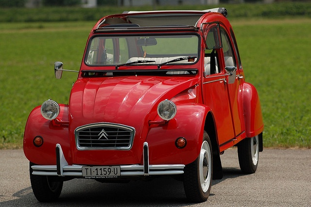 If you are going to be driving in France then do it in a Citroen 2CV, for that full French experience. #France #Driving #2CV