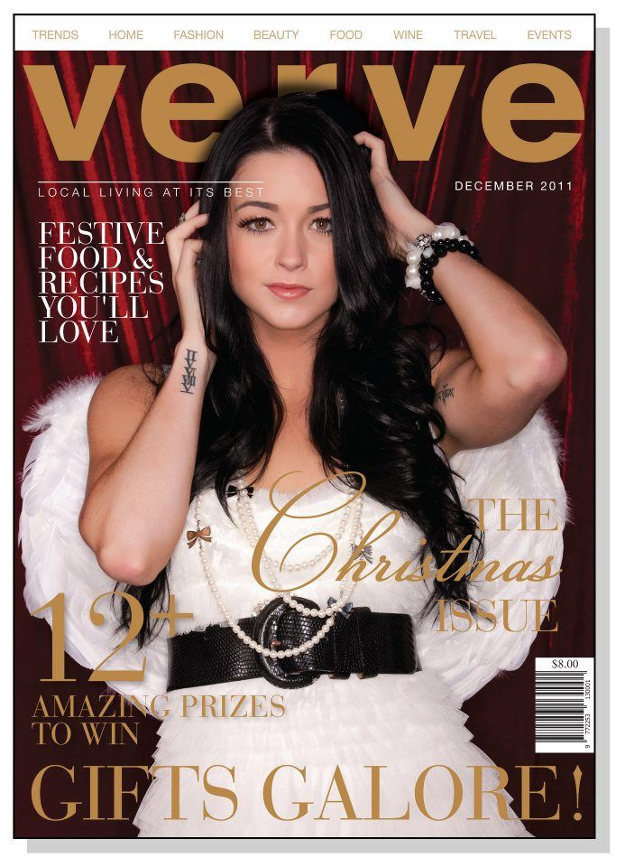Annabel Faye's hair by Bettjemans for the cover of Verve magazine.