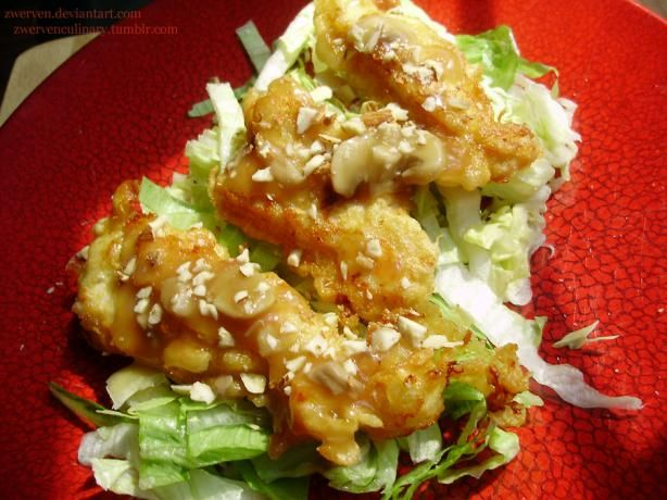 Almond Boneless chicken recipe...not sure if this is as good as the Detroit restaurants, but I will give it a try.