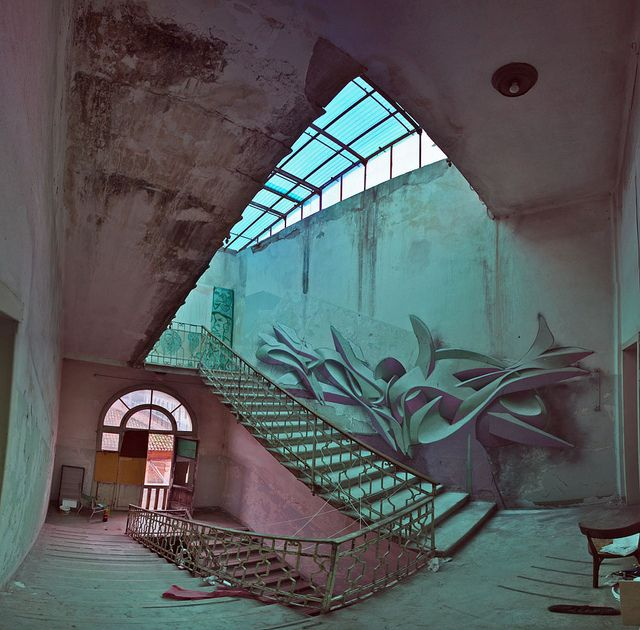 3D Graffiti and Paintings by Peeta