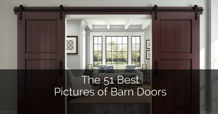 51 AWESOME SLIDING BARN DOOR IDEAS   Barn doors are not just for barns anymore. From the countryside barns, these wide sliding doors have entered the house to become popular interior décor pieces. From cozy bedrooms to rustic home offices and perfect room dividers, barn-style doors are all the rage for