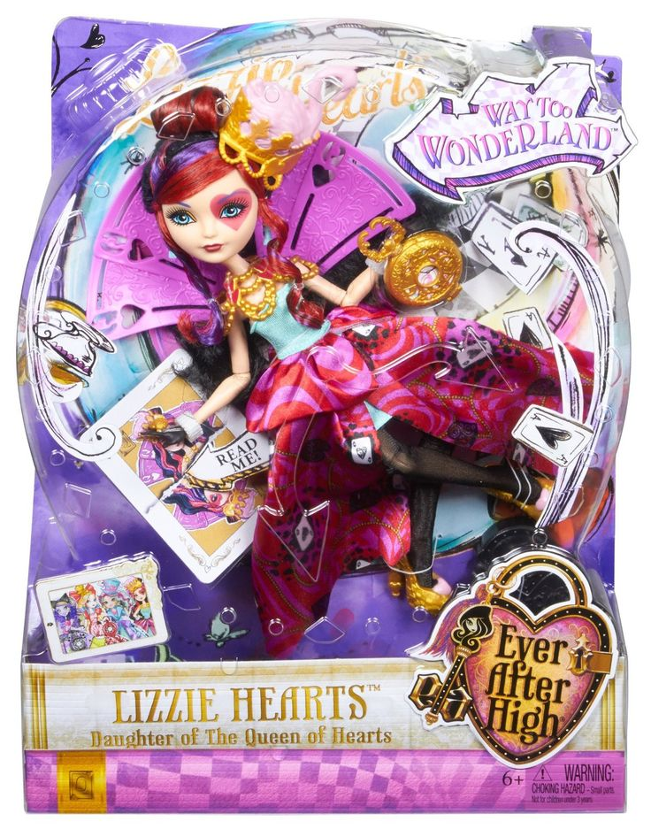 Bonecas WTW-Lizzie Hearts | Wiki Ever After High | Fandom powered ...