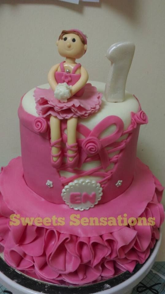 Ballerina Corset Cake